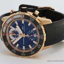 IWC Rose Gold Aquatimer Chronograph