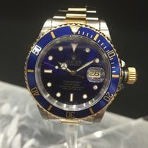 Rolex Submariner Gold and Steel Blue