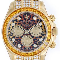 Rolex Men's Or Ladies Rolex Leopard Daytona Cosmograph...