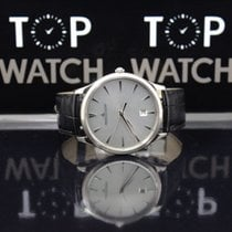 Jaeger-LeCoultre Master Ultra Thin Date Silvered Sunray...