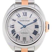 Cartier Cle De 35 Automatic Steel