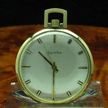 ZentRa 14kt 585 Gold Open Face Taschenuhr / Anhängeuhr /...