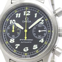 Omega Polished Omega Dynamic Chronograph Steel Automatic Mens...