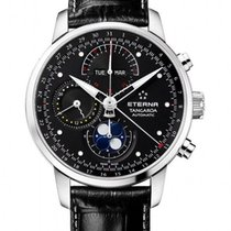 Eterna Tangaroa Moonphase Chronograph 42mm triple calendar...