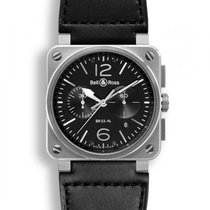 Bell & Ross Aviation Black Dial Chronograph Automatic B