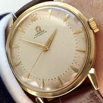Omega Top 35mm Omega Automatic Automatik solid gold watch with...