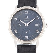 Omega De Ville Stainless Steel Blue Automatic 424.13.40.21.03.002