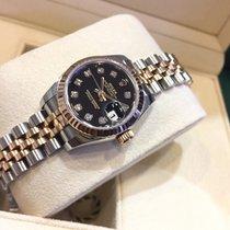 Rolex Datejust Ladies 2-tone Rose Gold