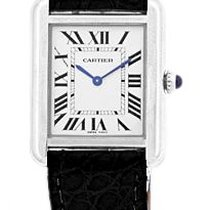 "Cartier ""Tank Solo"" Strapwatch."