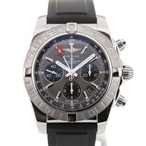 Breitling Chronomat 44 GMT Grey Dial Chronograph