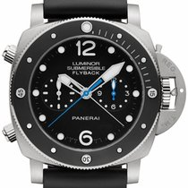 Panerai LUMINOR SUBMERSIBLE 1950 3 DAYS CHRONO FLYBACK PAM615