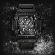 Hublot [NEW] Spirit of Big Bang All Black Ceramic 601.CI.0110.RX