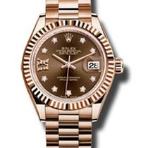Rolex 18KT Pink Gold Lady Date Just President