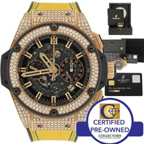 Hublot Big Bang King Power Unico 18k Gold Diamond 701.0X.0180....