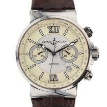 Ulysse Nardin Maxi Marine Chronograph Mens Ref. 353-66-314