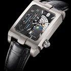 Harry Winston NEW] Avenue Dual Time automatic zalium timepiece