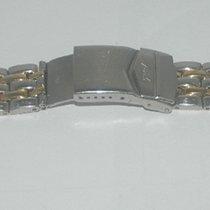 Mido Herren Stahl/gold Armband Bracelet 20mm