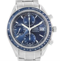 Omega Speedmaster Date Blue Dial Automatic Mens Watch 3212.80.00