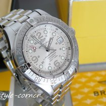 Breitling SuperOcean A17360 mit Breitling Stahlband (Box &...