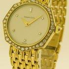 Tiffany & Co Damen Uhr 18 Karat 750 Gold mit Diamanten