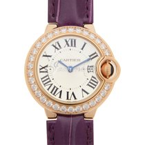 Cartier WE900251 BALLON BLUE DE 28mm PINK GOLD 2017