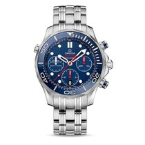 Omega Seamasater Diver 300m Co-Axial Chronograph Unused
