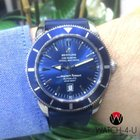 Breitling Superocean Heritage 46 A17320 Blue Rubber Strap
