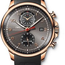 IWC Portuguese Yacht Club Chronograph - Red Gold IW390209