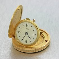 Ebel $20 Solid Gold Liberty Coin Eagle 18k Gold 34mm Pocket Watch