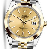 Rolex OYSTER PERPETUAL DATEJUST CHAMPAGNE 41MM 126303 NEW
