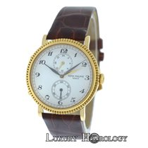 Patek Philippe Men's Travel Time 5034 Two Time Zone 18K...