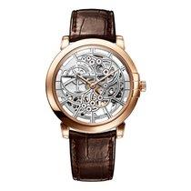 Harry Winston [NEW] Midnight Skeleton automatic 18K rose gold...
