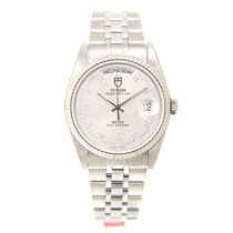 Tudor New  Prince Date-day Stainless Steel Silver Automatic...