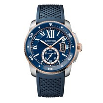 Cartier Calibre Diver Automatic Mens Watch Ref W2CA0009
