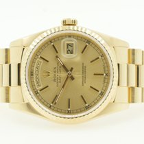 Rolex Date Date President 36mm Yellow Gold