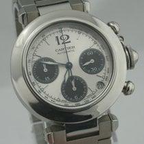 Cartier Pasha Chronograph Automatik Herrenuhr mit Revision