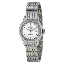 Tissot Carson Automatic White Dial Stainless Steel Ladies...
