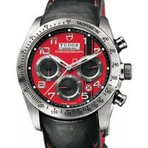 Tudor Fastrider Chronograph Ducati 42000D Red Arabic Stainless...