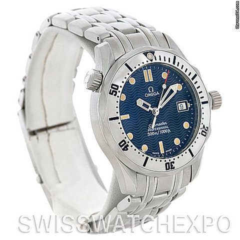 Omega Seamaster Steel Midsize 300 M Watch