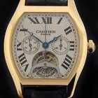 Cartier Rose Gold Tortue Tourbillon Chronograph Limited W1548151