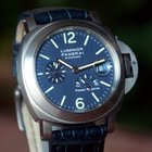 Panerai PAM 93 Luminor Marina Power Reserve Blue Dial Ti