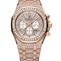 Audemars Piguet Royal Oak Rose Gold Diamond Set 41mm