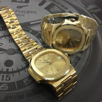 Patek Philippe Cally - [Used] Nautilus 3800/1J Gold Dial Watch...
