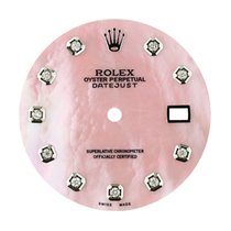 Rolex DateJust 36mm Pink Mother of Pearl/Diamond Hour Markers...