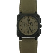 Bell & Ross Aviation BR03 Automatic Ceramic Cream Dial...