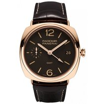 Panerai Radiomir 3 Days GMT Oro Rosso manual winding Mens...