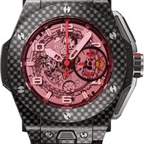 Hublot Big Bang King Ferrari Carbon Red Magic 45mm 401.QX.0123.VR