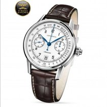 Longines - Column-Wheel Single Push-Piece Chronograph