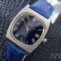Omega Geneve Vintage Swiss Mens Stainless Automatic Date Watch...