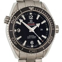 Omega Seamaster Planet Ocean 600m Co-Axial Stahl Automatik 38mm